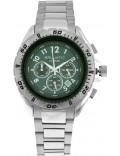 Ballistic BWE107 Mens Extreme Silver Green Chronograph Watch