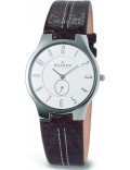 Skagen 433LSL1 Mens White Brown Watch