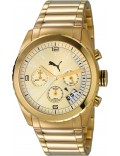Puma PU103182002 Cycle Metal Chronograph Gold Watch