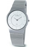 Skagen 233LSS Mens Chrome Steel Mesh Watch