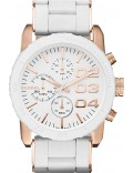 Diesel DZ5323 Ladies Franchise Chronograph White Watch
