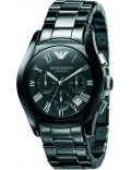 Emporio Armani AR1400 Mens Ceramica Black Watch