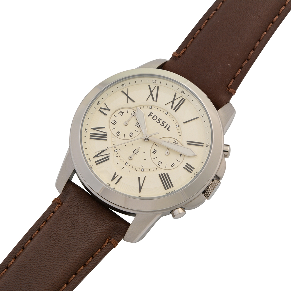 380e5821cdf7 Brown Leather FS4735 Fossil Watch