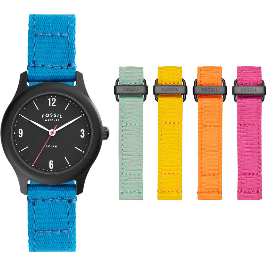 Fossil Ladies Curator Watch and Straps Gift Set LE1112