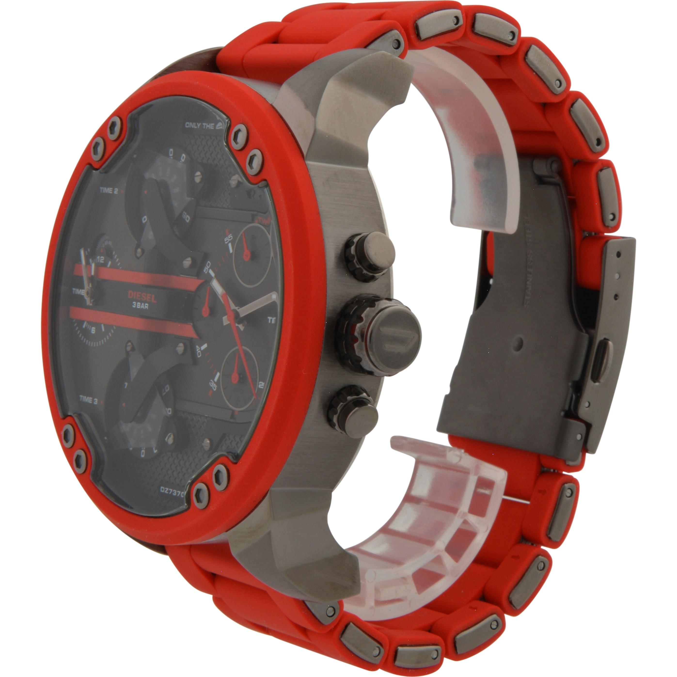 eb42de2e56e3 Red DZ7370 Diesel Watch