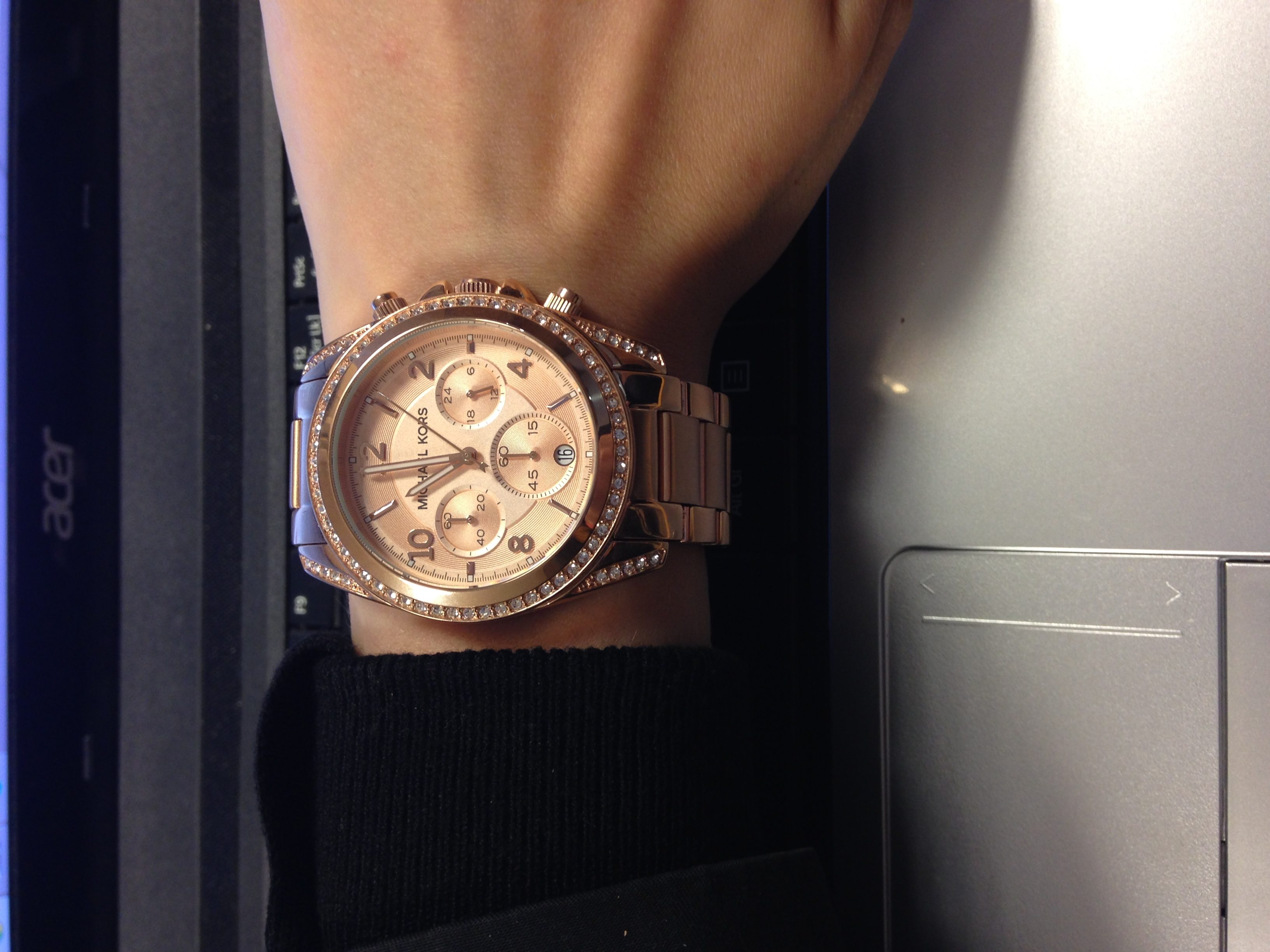 54cce8620 Rose Gold Metal MK5263 Michael Kors Watch | Watches2U