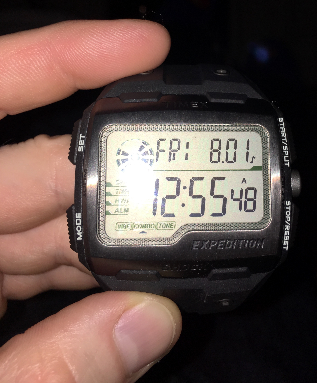 826cb9d83b51 Black TW4B02500 Timex Shock Watch