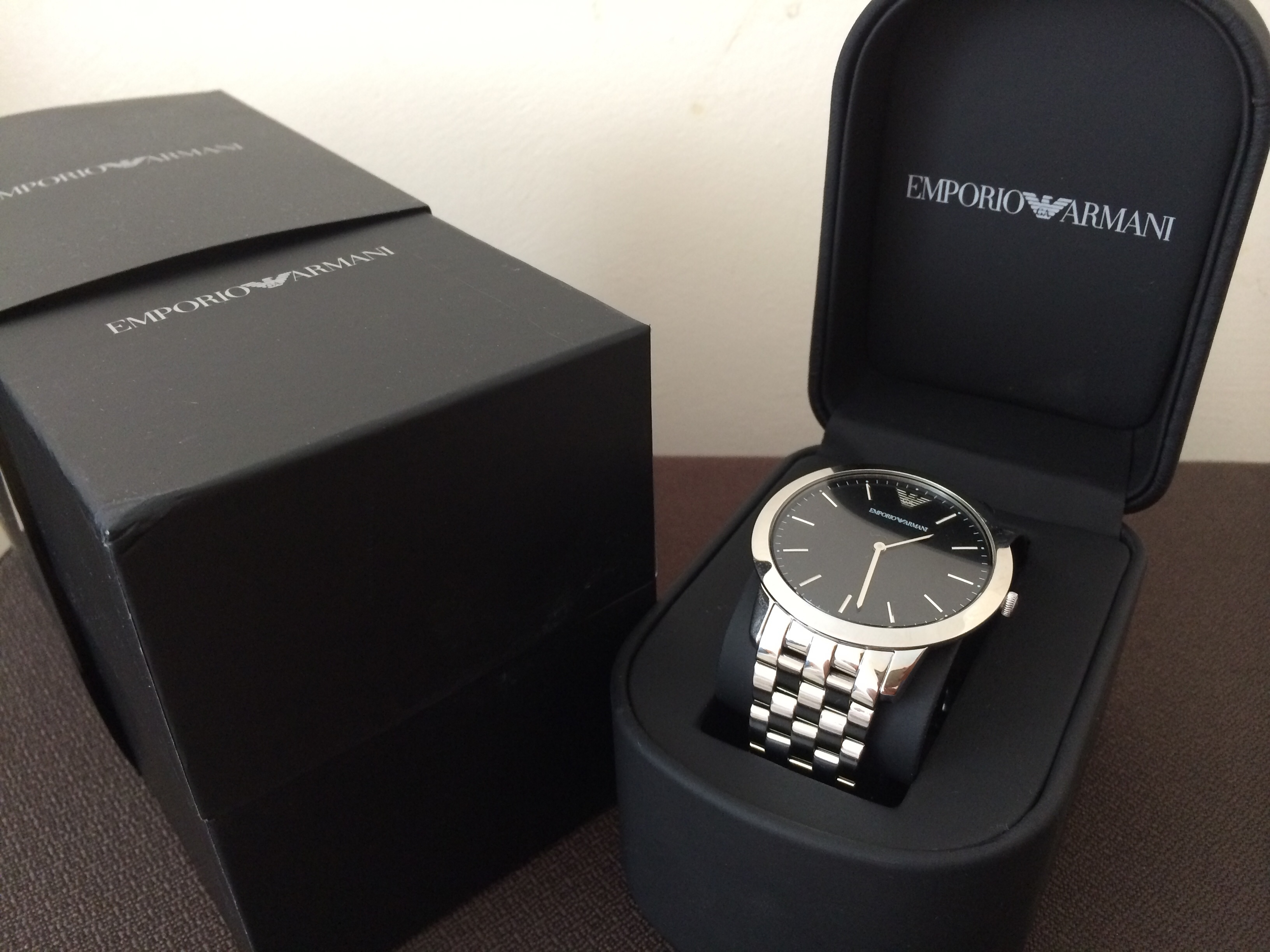 fb8c75af922f Silver Metal AR1744 Emporio Armani Watch