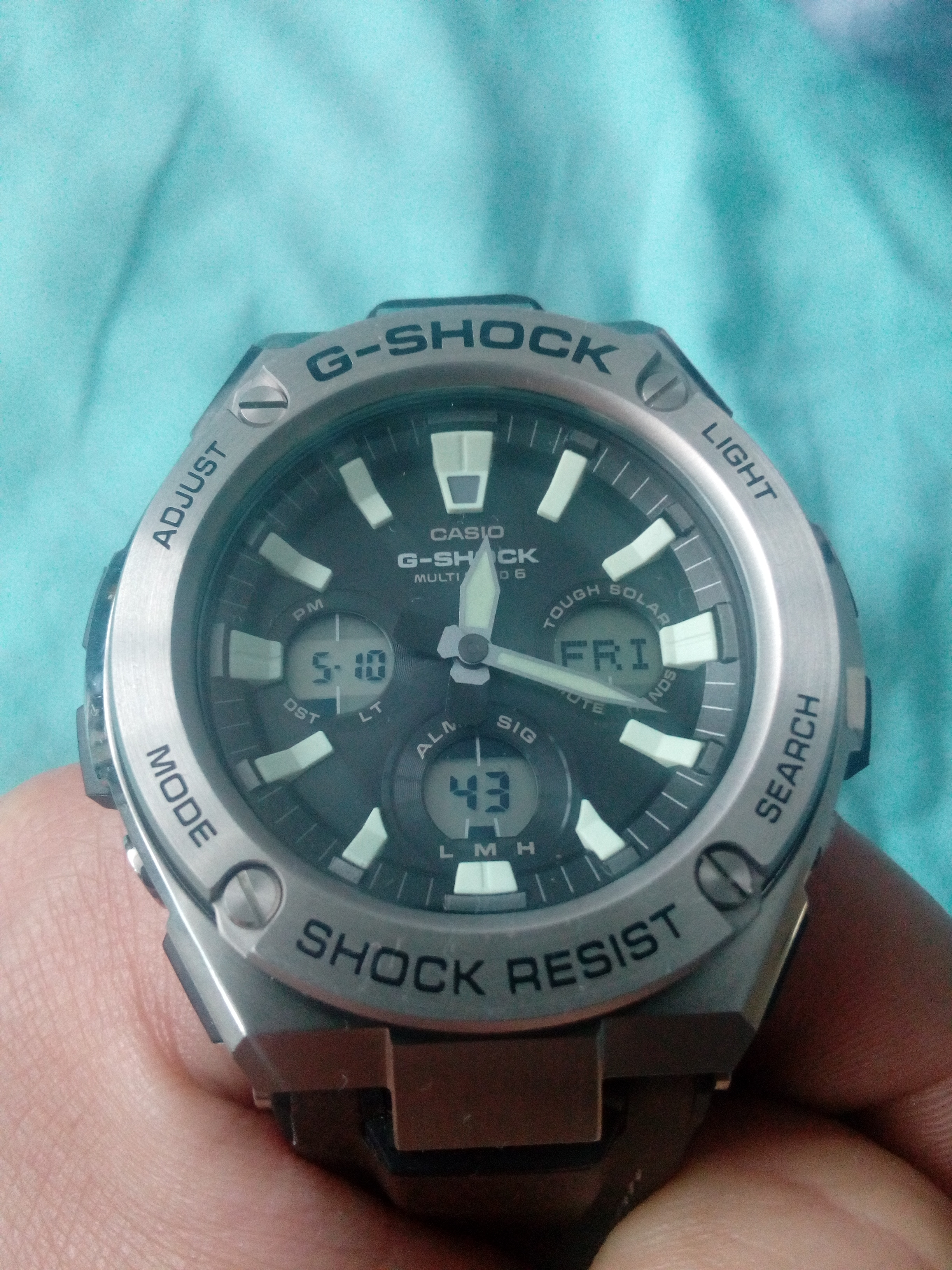 ee2b0ea9b Brown Leather GST-W130L-1AER Casio G-Shock Watch | Watches2U