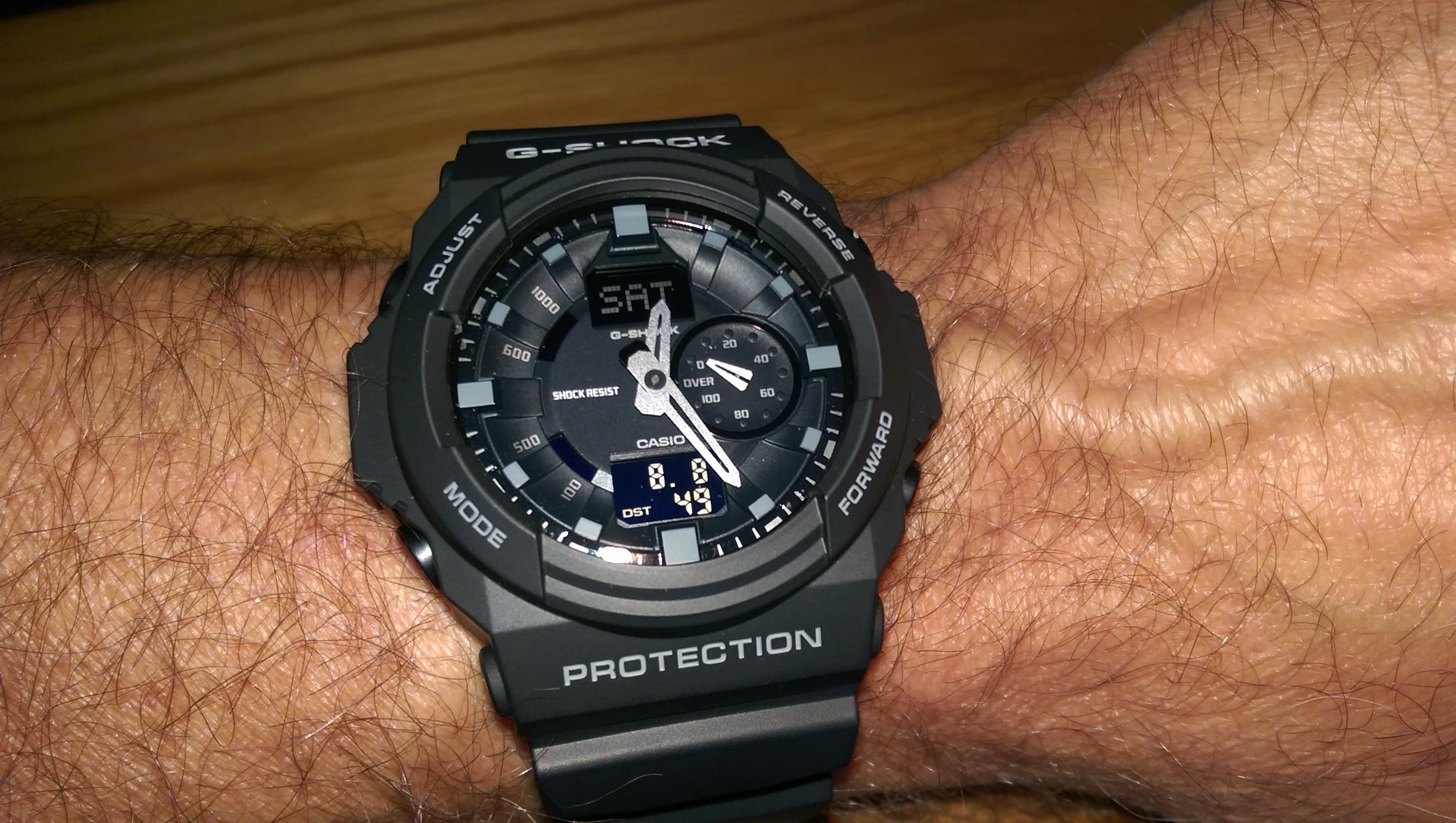 Mens Casio G Shock Watch Gshock Original Ga100mb 1adr Ga 100mb 150 1aer Black