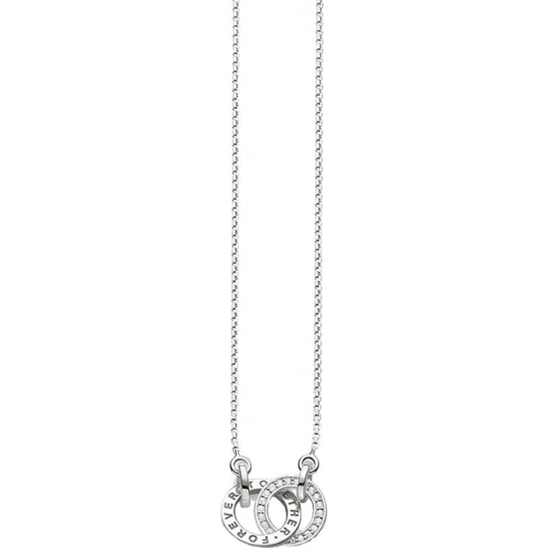 Thomas Sabo necklace white KE1488-051-14-L45v Thomas Sabo ZoYCI6Vj