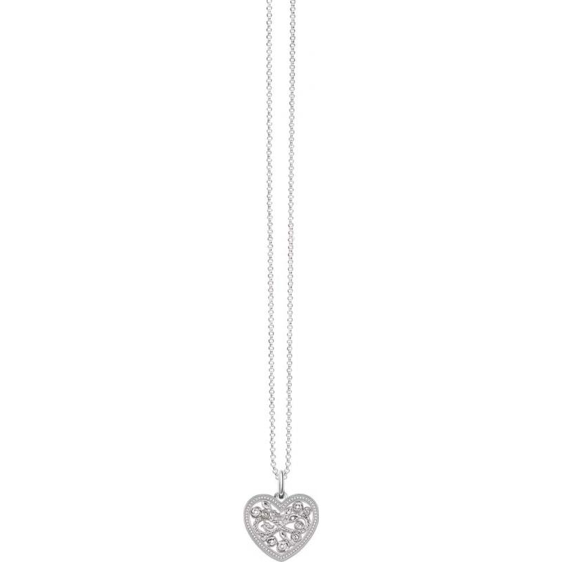 Thomas Sabo KE1556-051-14-L45v Las señoras glamour y alma de plata 925 collar