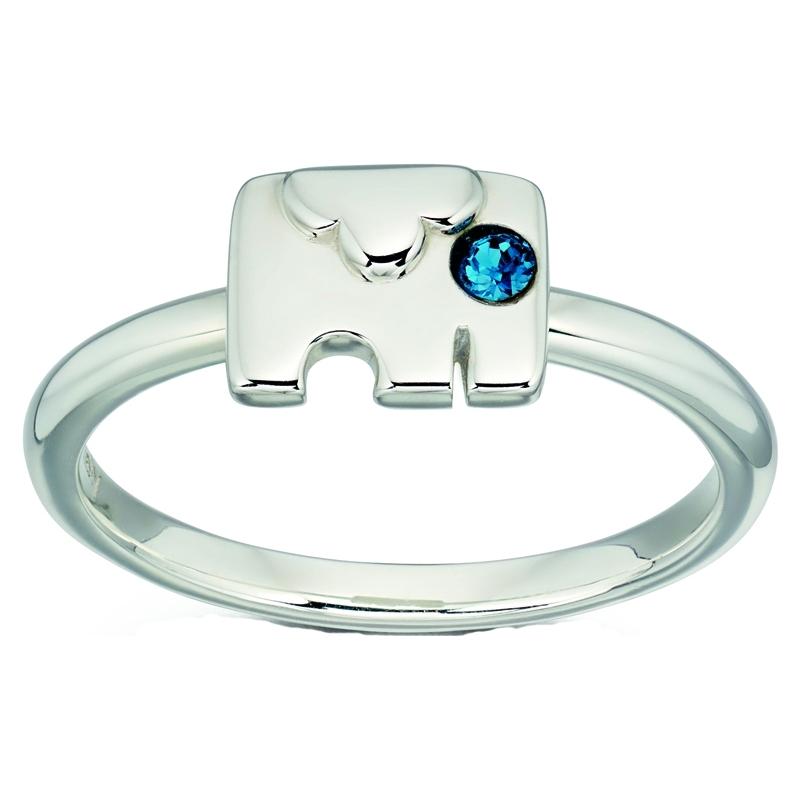 Orla Kiely R3495-52 Ladies Sterling Silver Ring