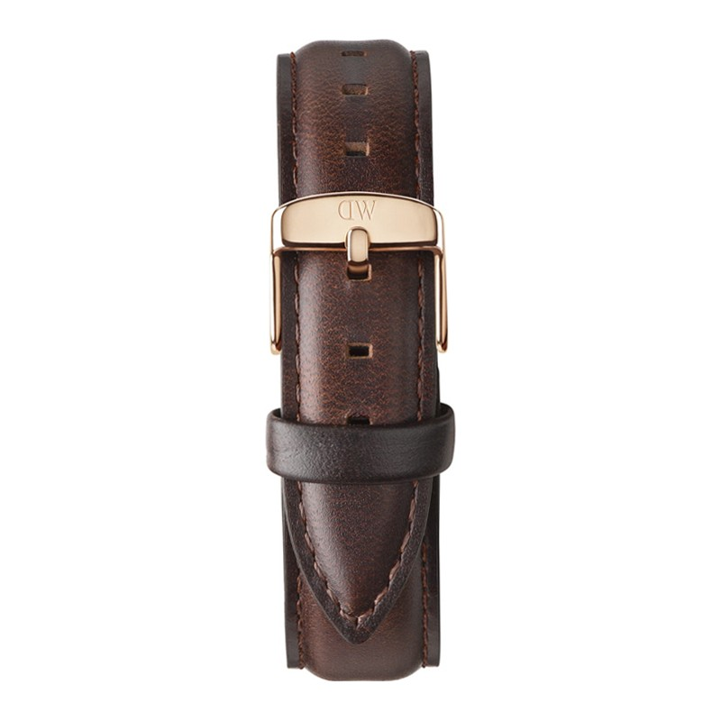 Ladies Classic Bristol 36mm Rose Gold Brown Leather Spare Strap