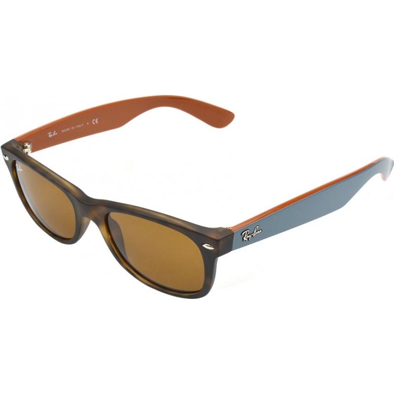 b1bd4faba5787 RayBan RB2132-52-6179 RB2132 52 New Wayfarer Matte Tortoiseshell 6179  Sunglasses