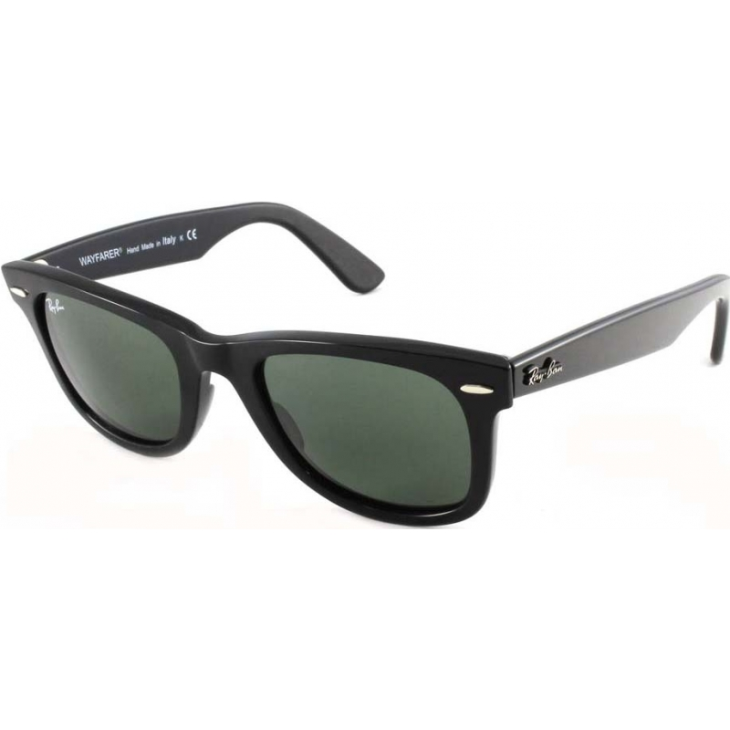 a4c1c0f0b8262 RayBan RB2140 50 Original Wayfarer Black Green 901 Sunglasses