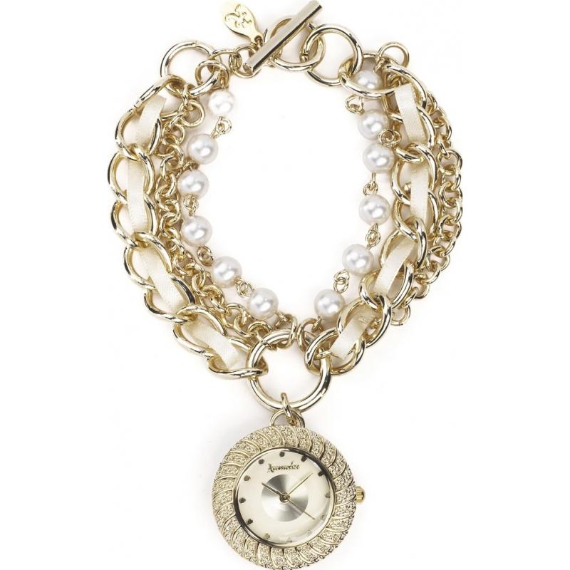 Accessorize Gold Bracelet Ladies Watch J1013