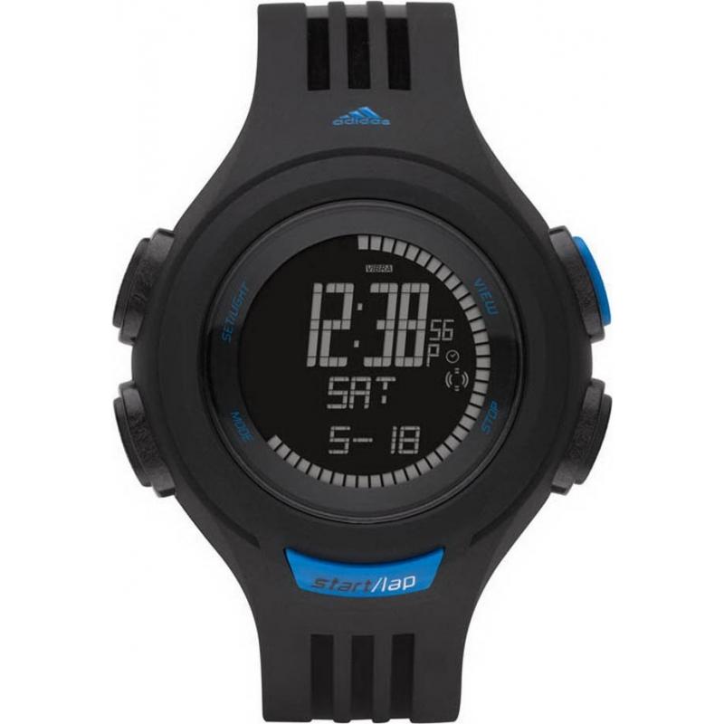 Adidas Performance ADP3089 Black Blue Referee Chronograph Watch
