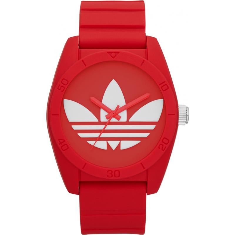 Adidas ADH6168 Santiago rode siliconen band horloge