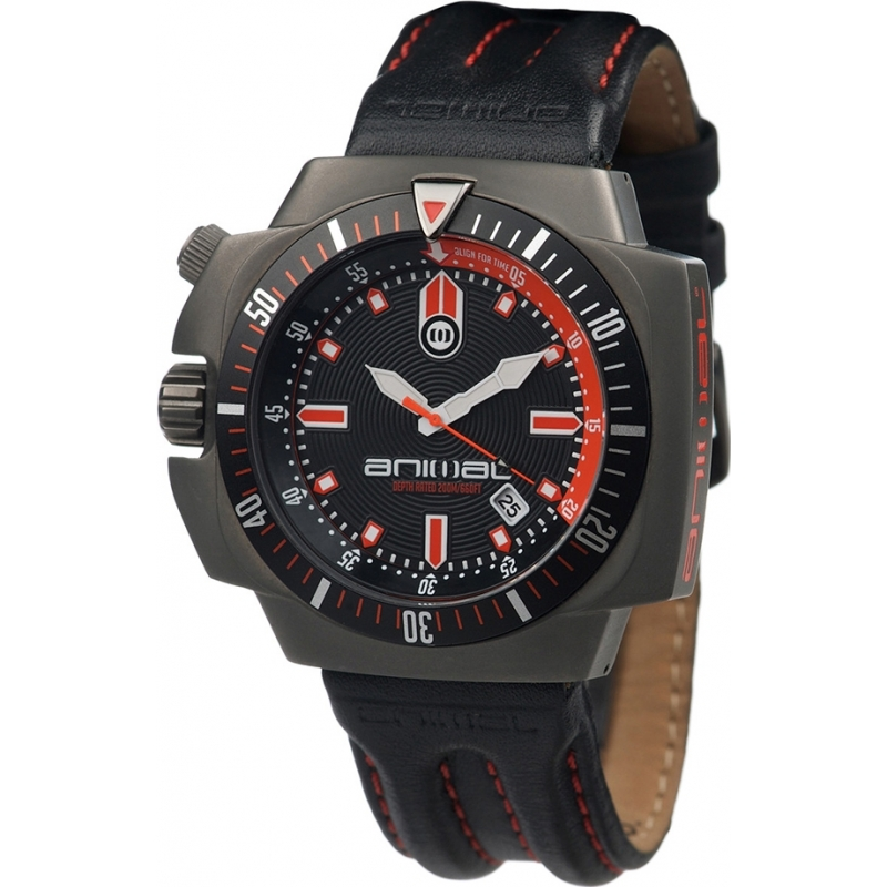 Animal WW2WA004-002 Mens Sidewinder Black Watch