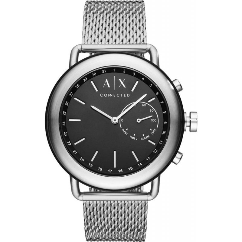 df09572167f Armani Exchange Connected AXT1020 Mens Dress Smartwatch