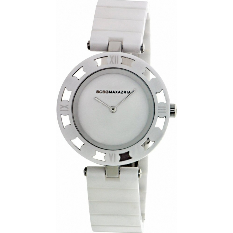 BCBG Max Azria BG8251 Ladies Analog Vintage White Watch