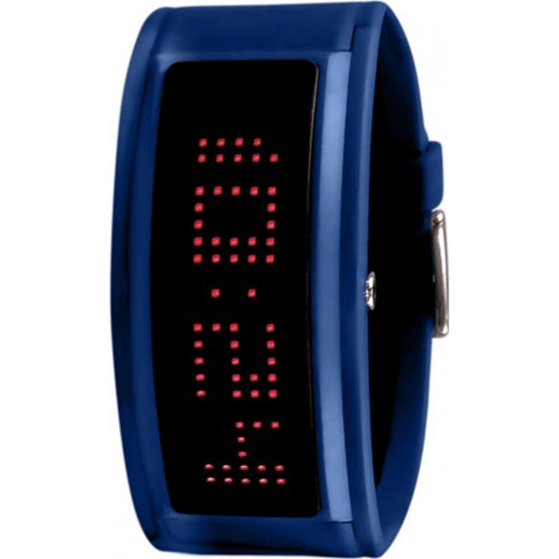 Black Dice BD-044-13 Guru Blue Rubber Strap Watch