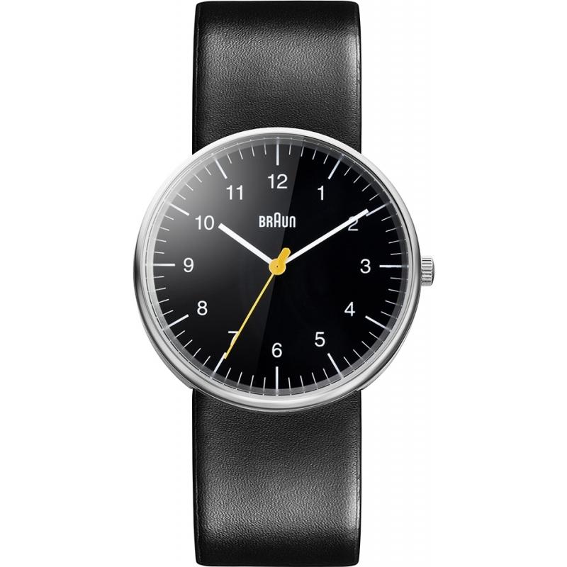 Braun Watches BN0021BKBKG Mens Black Steel Watch