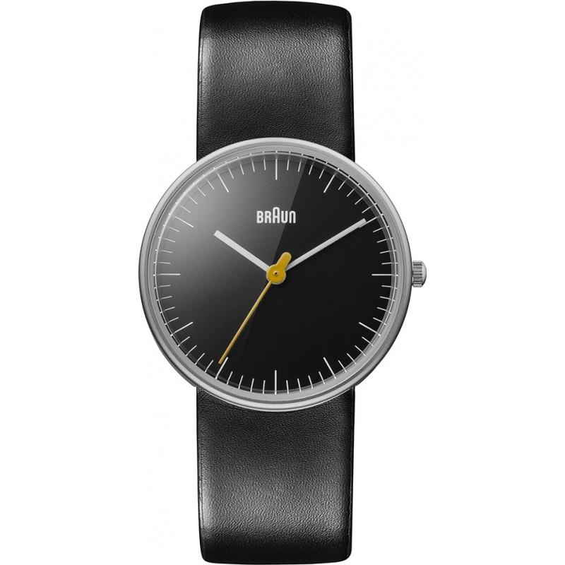 Braun Watches BN0021BKBKL Ladies All Black Steel Watch