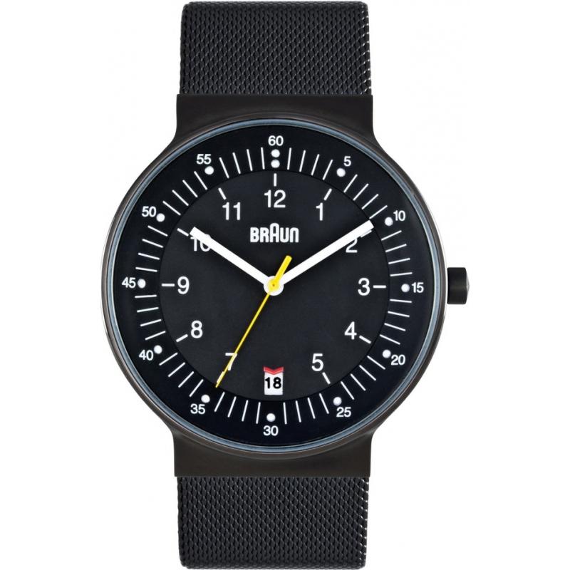 Braun Watches BN0082BKBKMHG Mens All Black Steel Watch