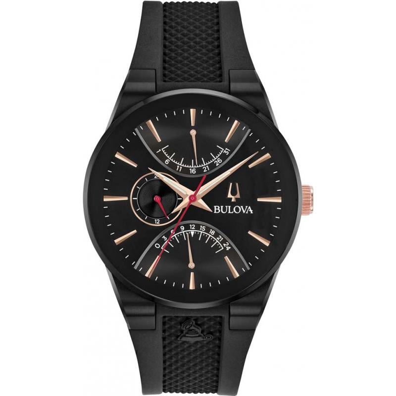 53f2cb6d0aa Black 98B321 Bulova Latin Grammy Watch