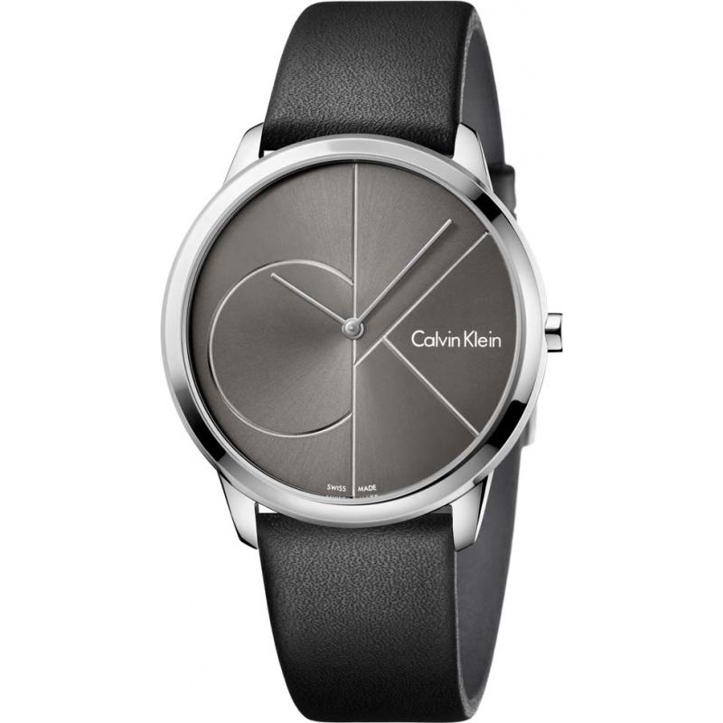 4efc86280 Black Leather K3M211C3 Calvin Klein Watch | Watches2U