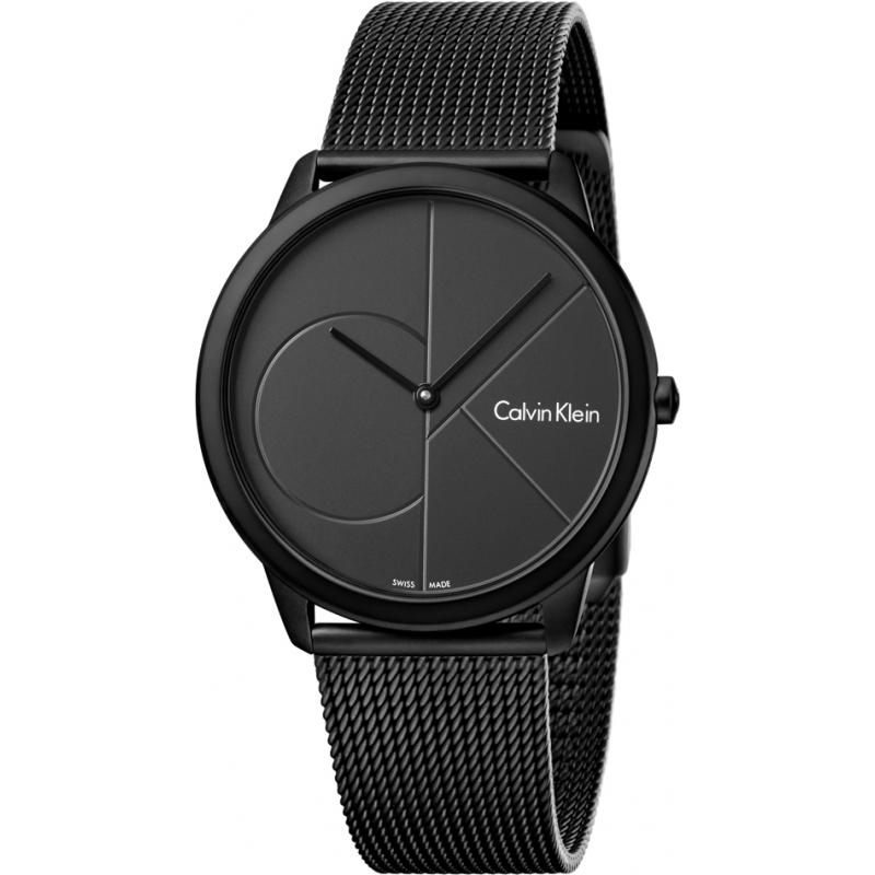 7fdddea19 Black Metal K3M514B1 Calvin Klein Watch | Watches2U