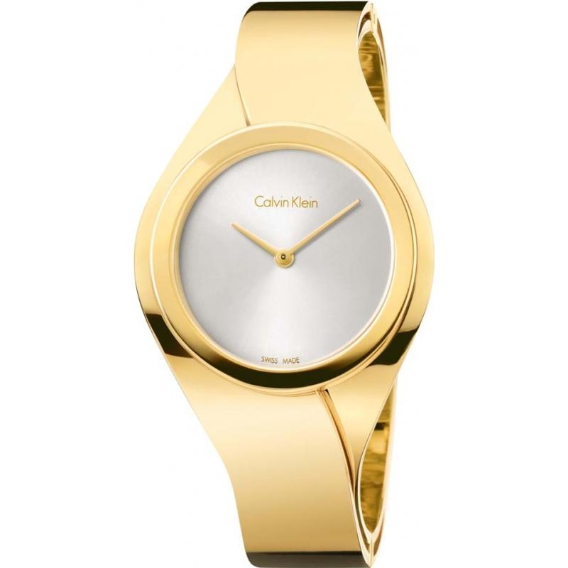 Calvin klein gold bracelet watch