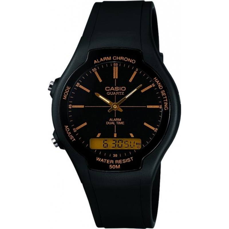 Casio Collection Dual Time Black Watch