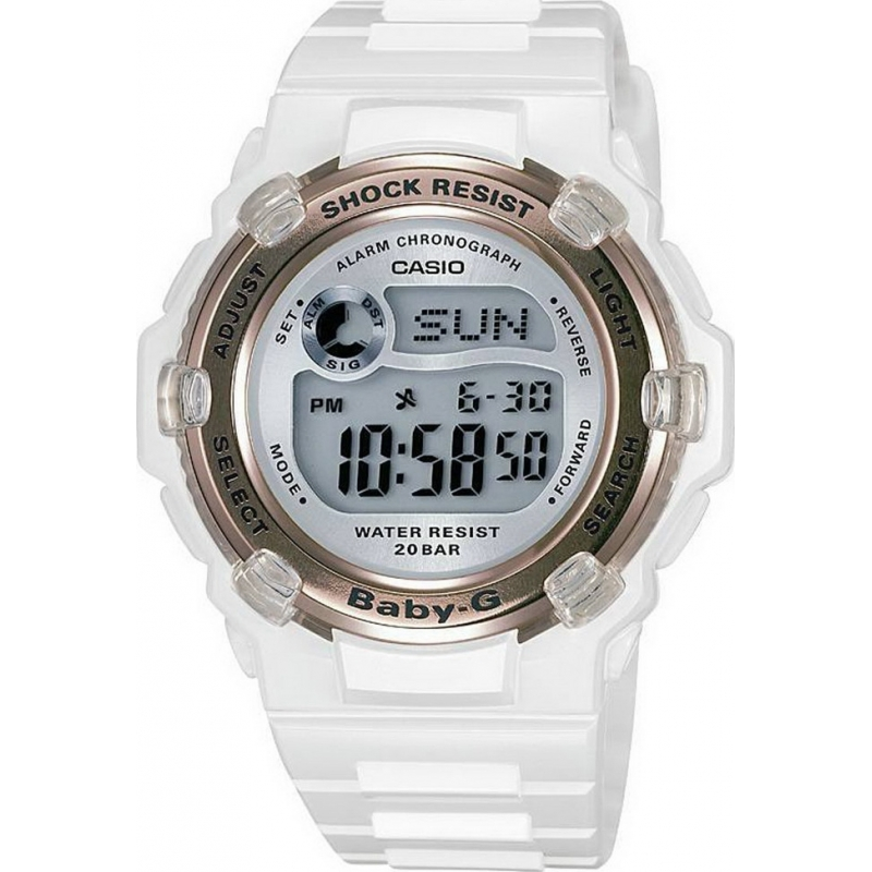 Casio BG-3000-7AER Ladies Watch - Watches2U