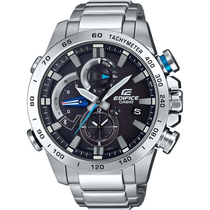 39386095a Silver Metal EQB-800D-1AER Casio Edifice Smartwatch | Watches2U