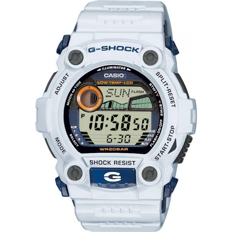 Casio G-7900A-7ER Mens G-Shock G-Rescue White Watch
