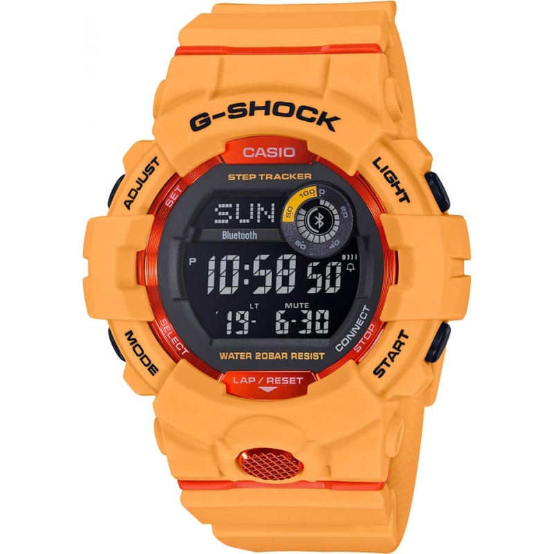 59993f290027 Orange GBD-800-4ER Casio G-Shock Smartwatch | Watches2U