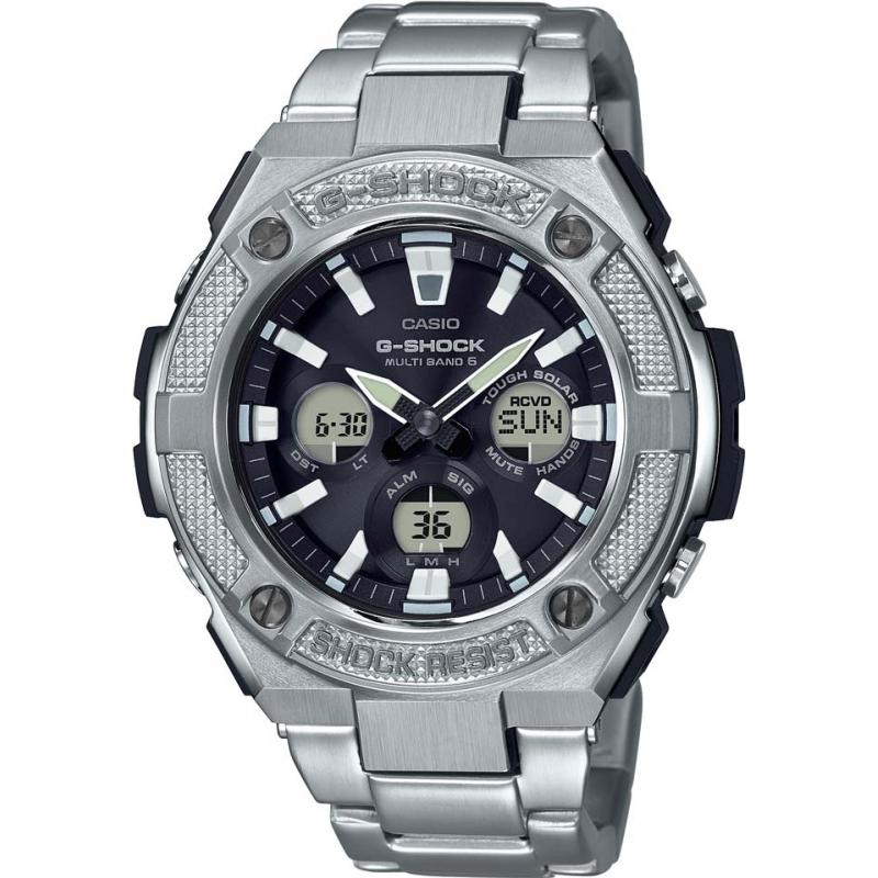 00925b309 Silver Metal GST-W330D-1AER Casio G-Shock Watch | Watches2U