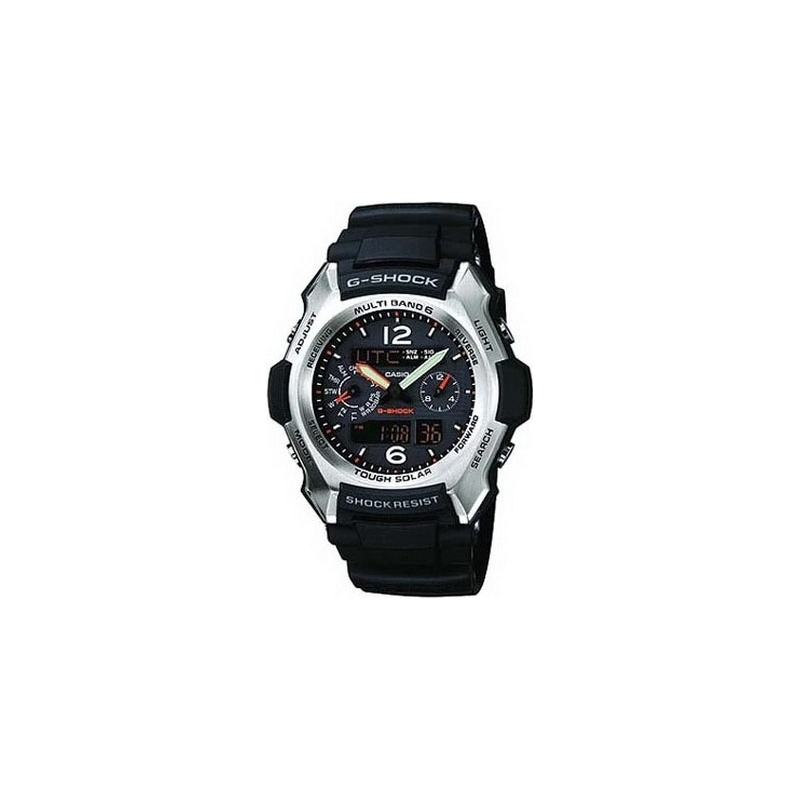 Casio GW-2500-1AER Mens G-Shock Black Aviator Solar Watch