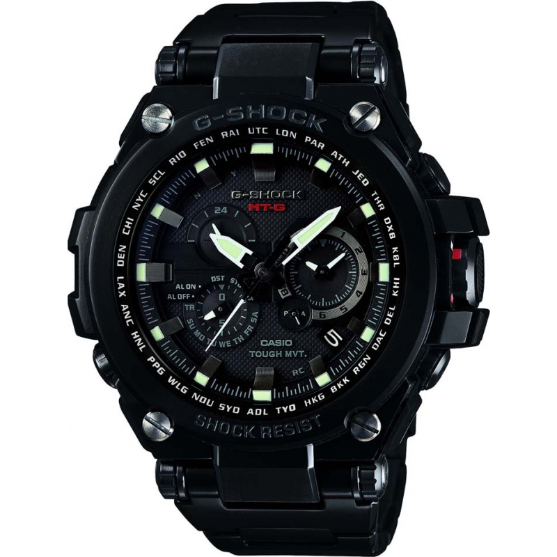 Casio MTG-S1000BD-1AER Mens G-Shock Premium Radio Controlled Solar Powered Watch