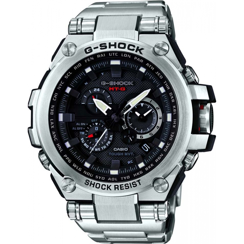 Casio MTG-S1000D-1AER Mens G-Shock Premium Radio Controlled Solar Powered Watch