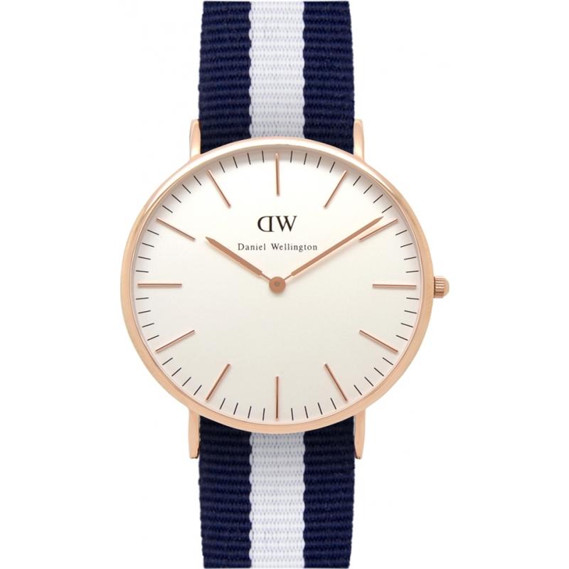 3dd1408f6101 0104DW - Daniel Wellington Mens Classic Glasgow 40mm Rose Gold Watch