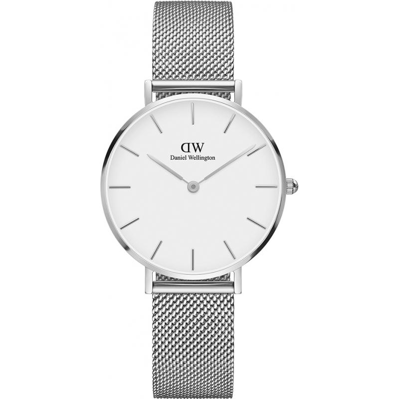 ea989ae77ec Daniel Wellington Classic Petite Sterling Silver 32mm Ladies Watch
