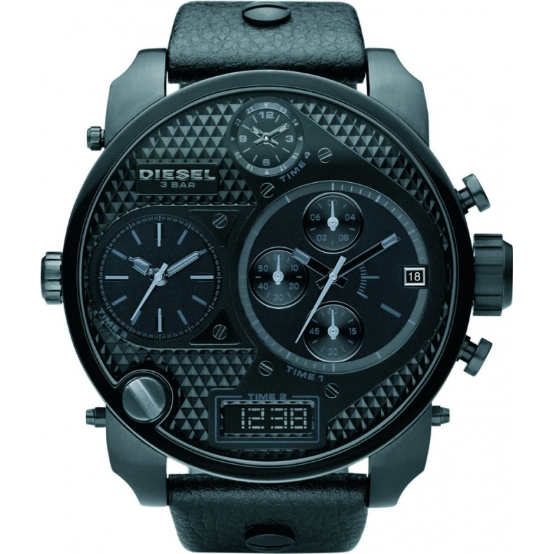 Black Chronograph Watch