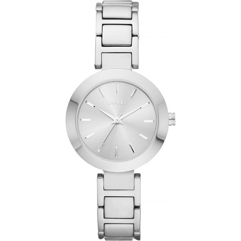DKNY Ladies Stanhope Silver Steel Bracelet Watch NY2398 7958a5506360