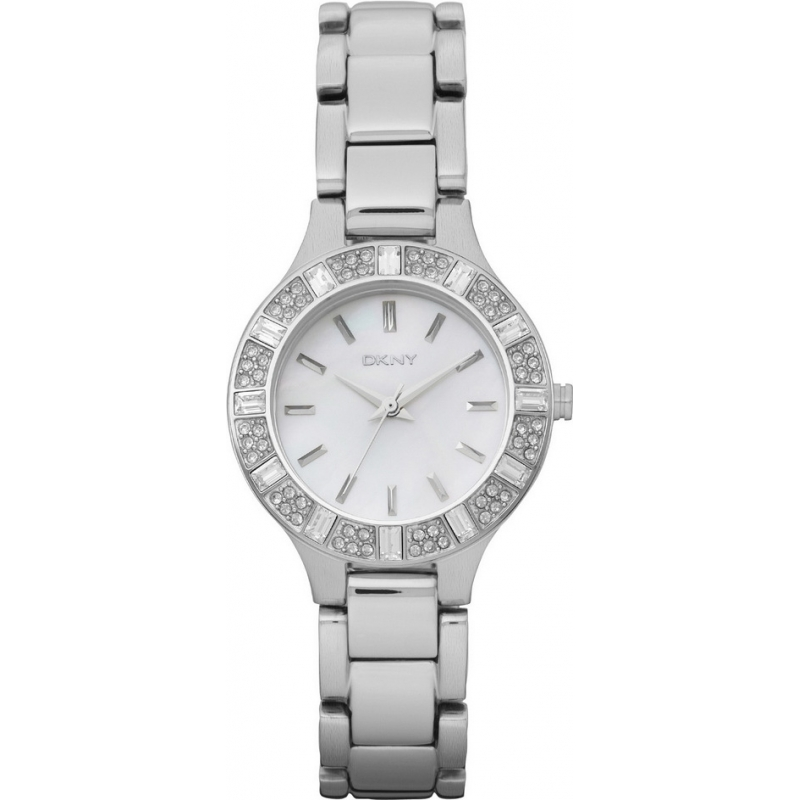 DKNY NY8485 Ladies Chambers Silver Watch