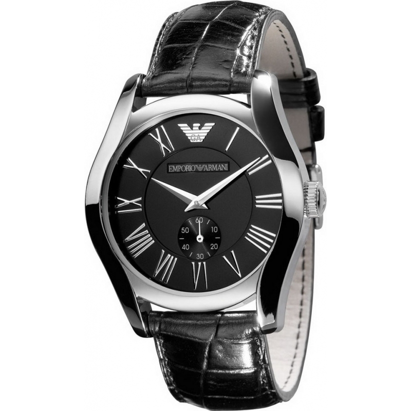 Emporio Armani AR0643 Mens Classic Black Watch