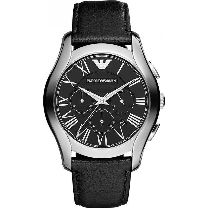 Emporio Armani AR1700 Mens Classic Chronograph Black Watch